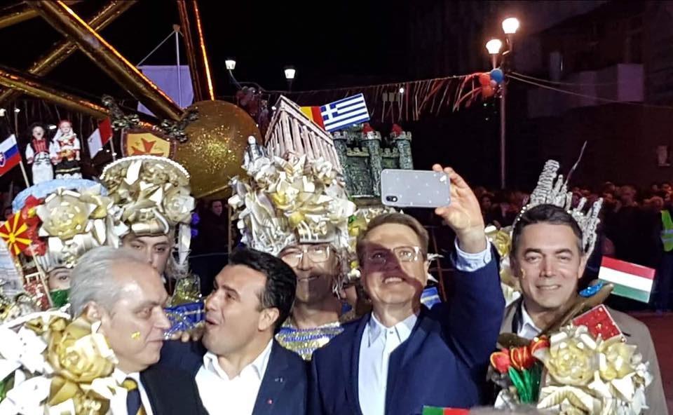 "(ФОТО) Димитров ги брка ""лошите"" на Струмичкиот карневал"