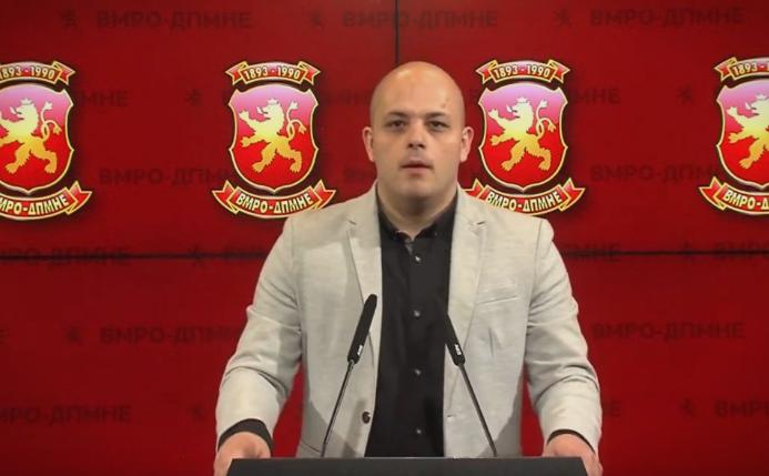 Костовски: Со капитулацијата на Зоран Заев е загрозен идентитетот, се брише се што е македонско