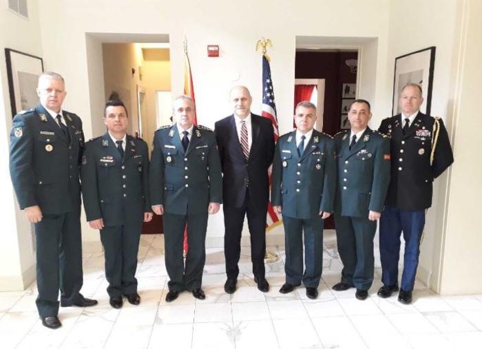 Началникот на генералштабот на Армијата, Ѓурчиновски на средби во Пентагон