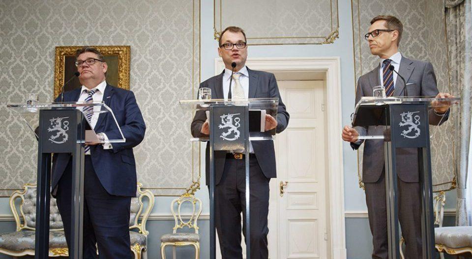 Финската Влада денеска поднесе оставка