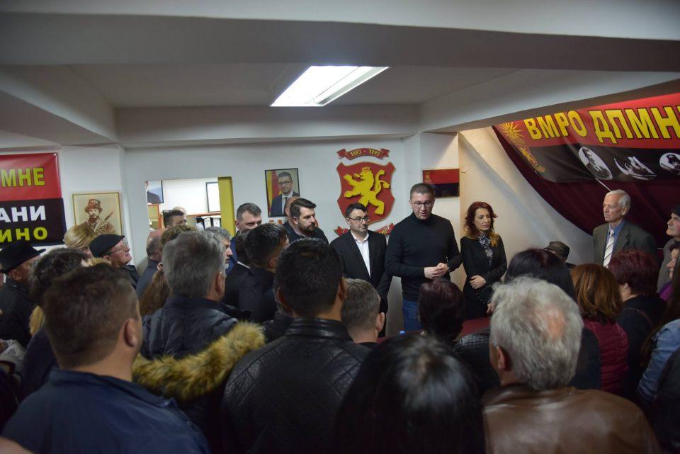 Мицкоски од Неготино: Мора да се избориме за правда – денес граѓаните на дело го видоа Заевизмот