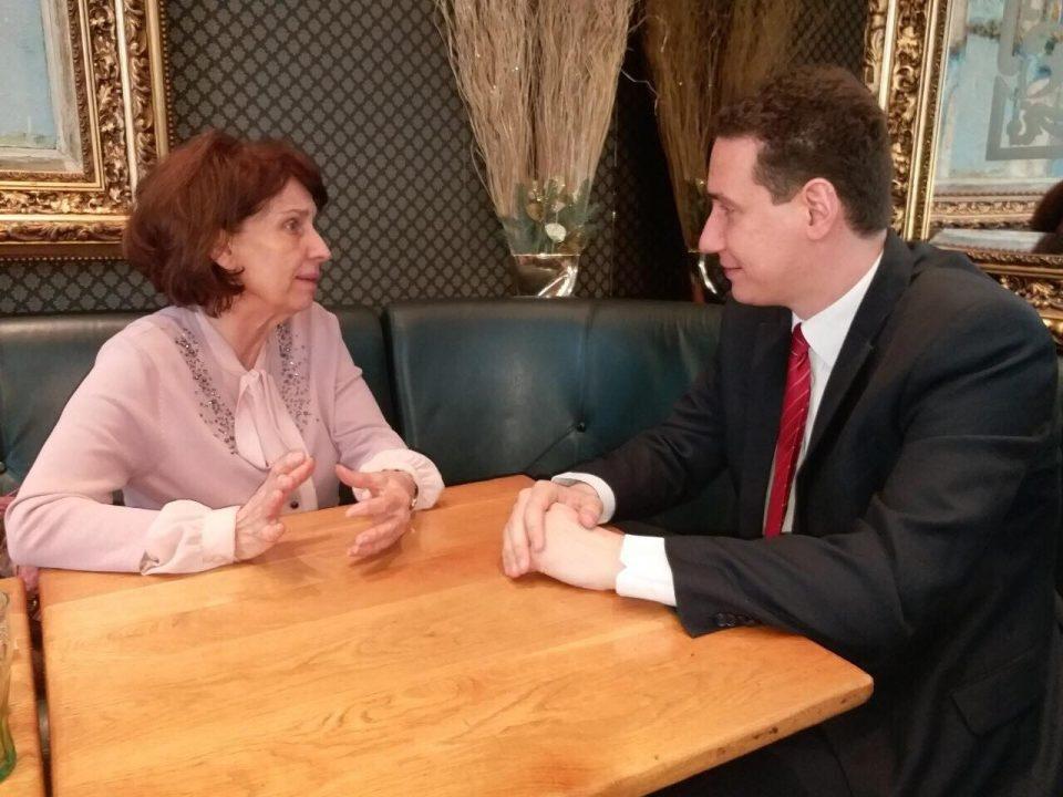 Силјановска: Влатко Ѓорчев ми помага како тој да е кандидат – ти благодарам Влатко