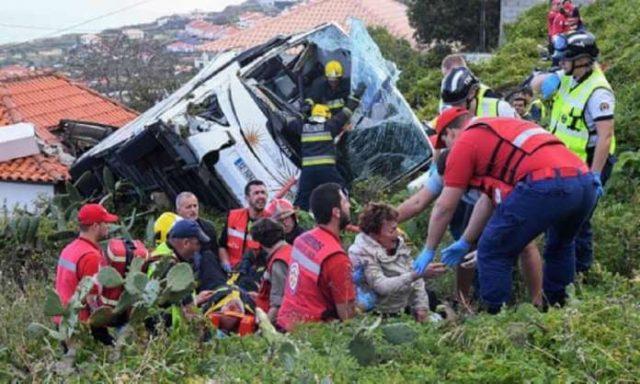 Се преврте автобус во Мадеира – загинаа 29 германски туристи
