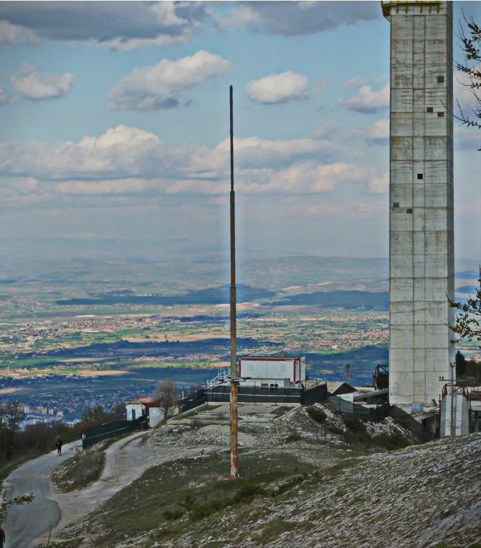(ФОТО) Македонското знаме е симнато од јарболот на врвот на Водно