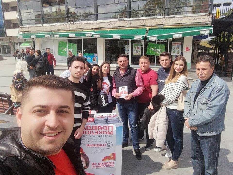 (ФОТО) Митко Јанчев со поддршка за Сиљановска