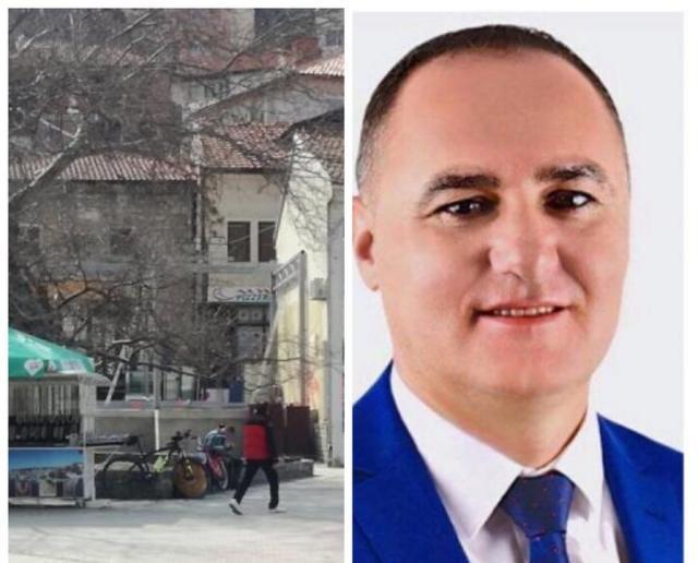 Усеини тепачот и советник од ДУИ изгради бетонска дивоградба во заштитеното јадро од УНЕСКО