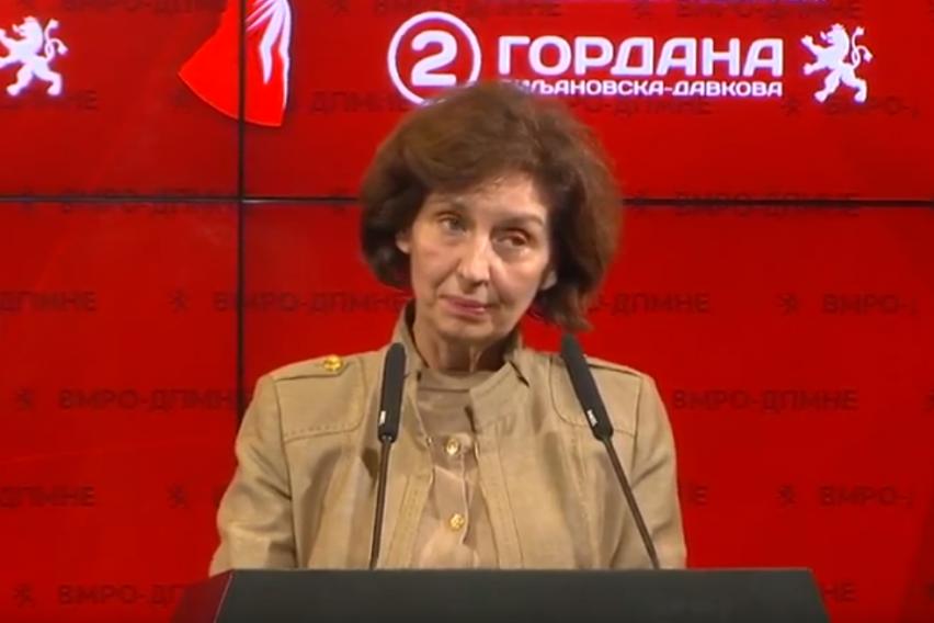 Сиљановска: За транзиција ме обвинуваат луѓе кои целиот живот го поминале во рамките на транзицијата