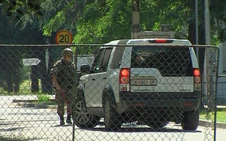 """Обид за насилен влез во касарна """"Гоце Делчев"""" – еден ранет"""