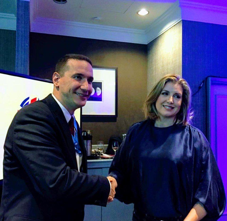 (ФОТО) Ѓорчев со честитка до новата министерка за одбрана на Британија: Време е и Македонија да ја води жена!