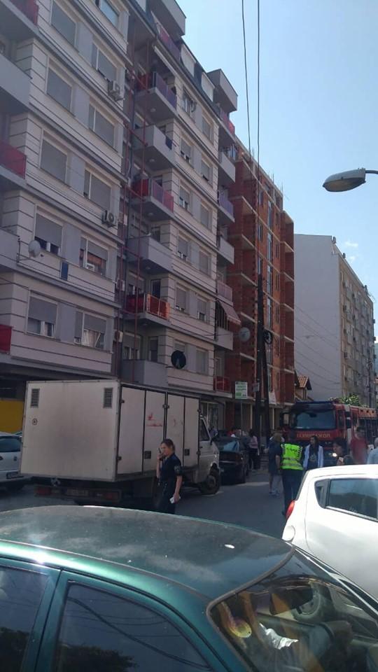 Детали за пожарот во стан позади Универзална