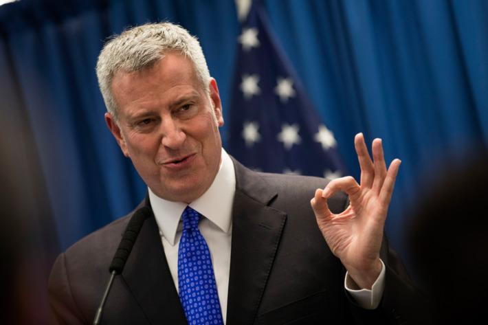 Градоначалникот на Њујорк со претседателски амбиции