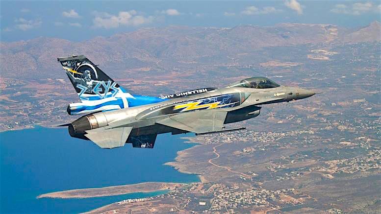 Грчките Ф-16 ја прелетаа Македонија