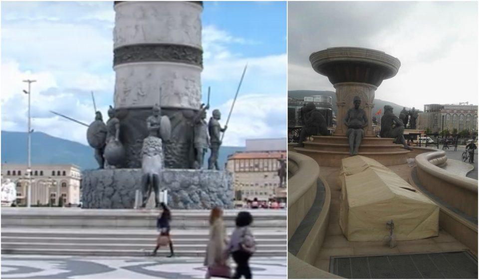 Украден механизмот на фонтаните на плоштад?! Ќе се плаќаат 200.000 евра!