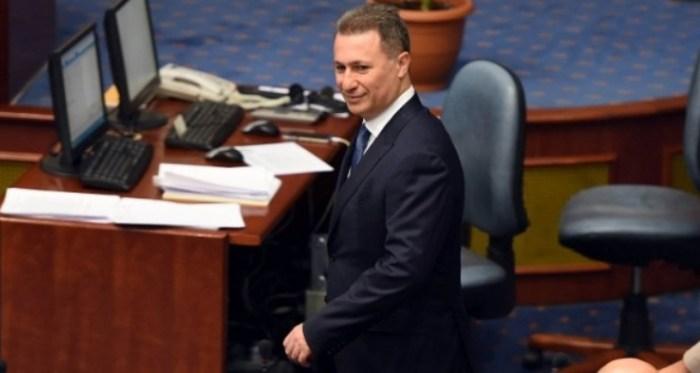 ВМРО-ДПМНЕ одлучи: Да се одземе пратеничкиот мандат на Никола Груевски!