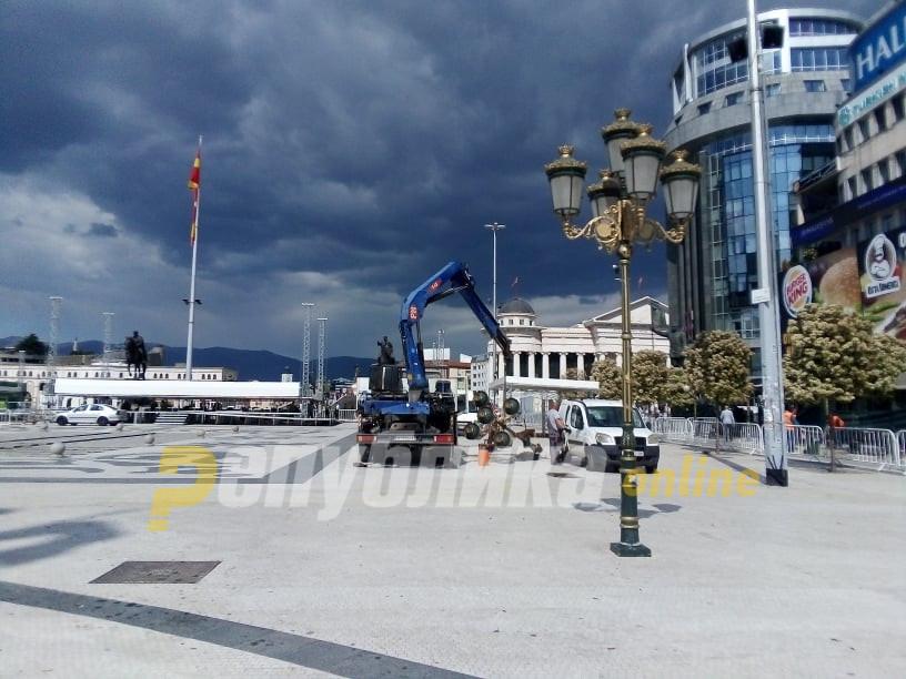 Скопје интензивно се подготвува за посетата на папата
