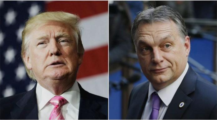 Историска средба: Трамп ќе го пречека Орбан во Белата куќа