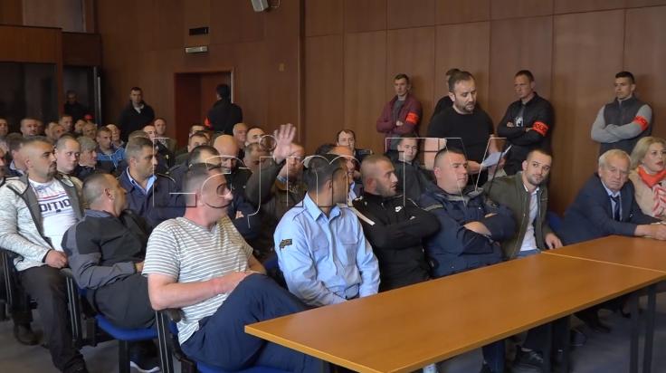 (ВИДЕО) Командант Соколи: Доста веќе, четири години ве трпиме, Вие сте дојдени од Карпатите