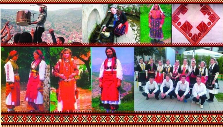 Прв фолклорен фестивал на Македонците во Албанија