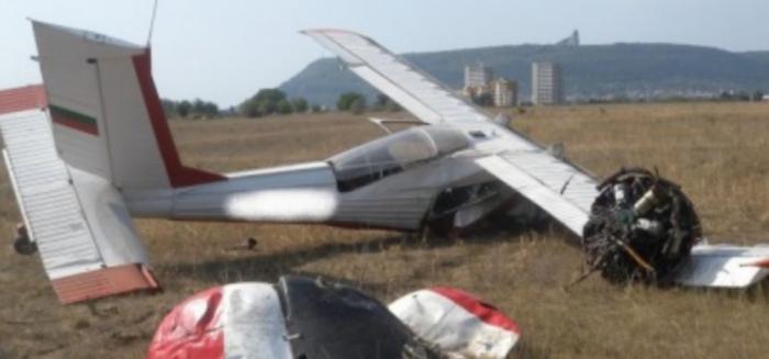 Авион се сруши во Бугарија – пилот и трудница загинаа