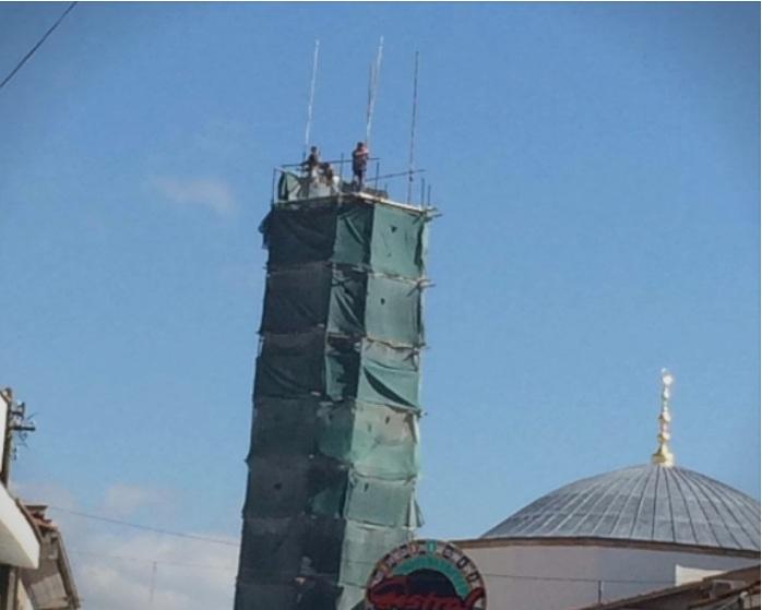 Реставрацијата на Алипашината џамија во Охрид е една од причините зошто градот го губи статусот во УНЕСКО
