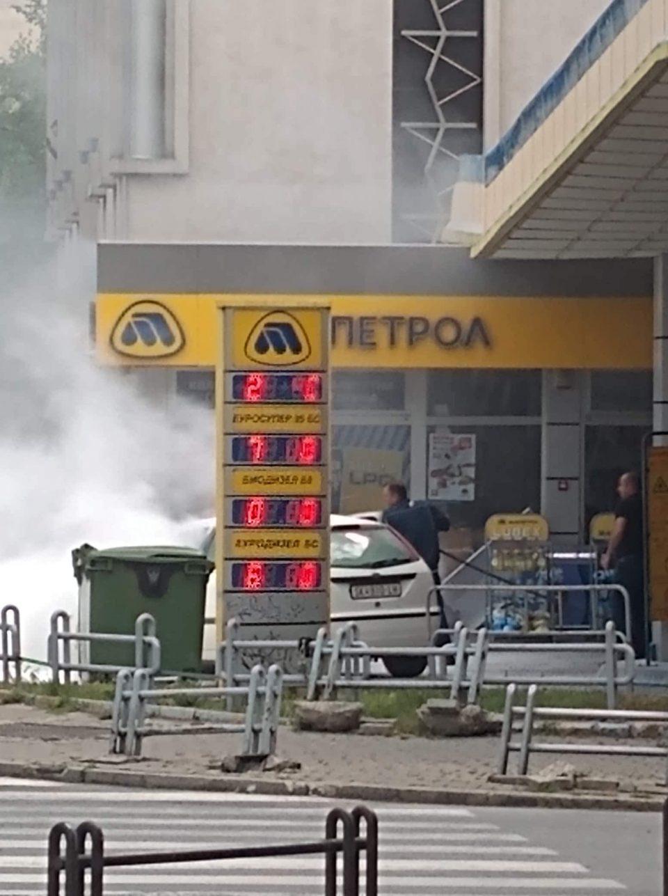"""(ФОТО+ВИДЕО) Ова е херојот на денот: Пумпач на """"Макпетрол"""" самиот спречи пожар и експлозија!"""