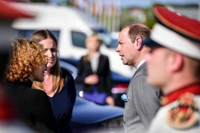 Принцот Едвард денеска на средба со претседателот Пендаровски