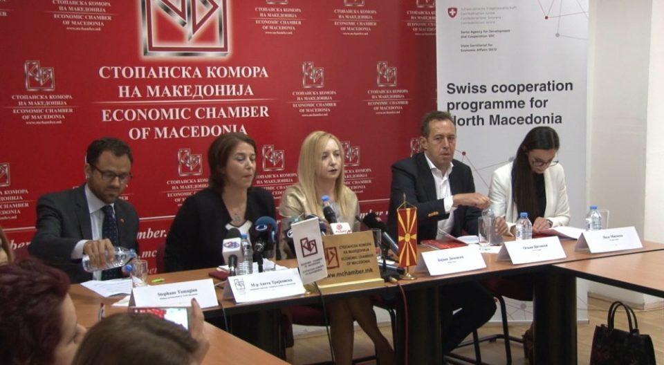 Швајцарија им дава по 10.000 франци на македонски компании за тие да обучат кадар