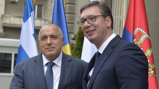 """Вучиќ и Борисов разговараа за изградба на """"Балкански поток"""""""