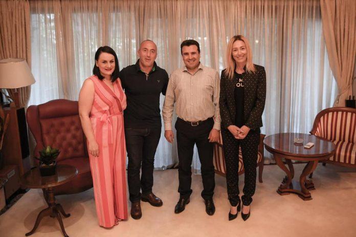 Заев и Харадинај се вистински пријатели – косовскиот премиер на гости во Струмица