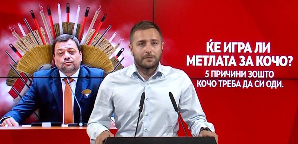 Арсовски: Анѓушев да си поднесе оставка – бизнисите му цветаат откако е во Владата