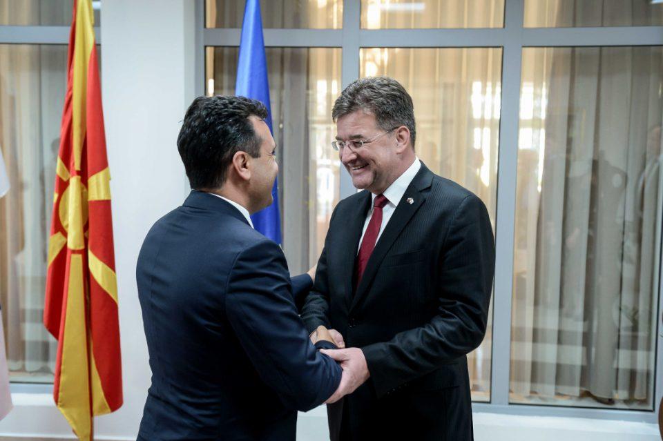 Средба Заев-Лајчак: Словачка безусловно ја поддржува Македонија во евроатлантските интеграции