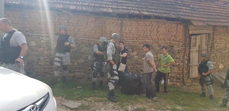 Голема акција на полицијата во Љуботен