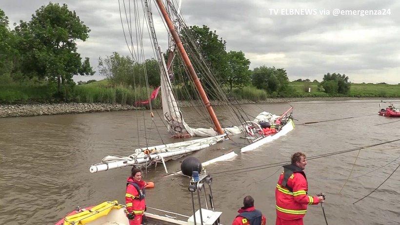 Историска едрилица потона во Германија – има повредени