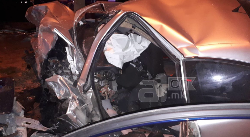 Страшна несреќа го потресе Скопје: Две млади лица загинаа
