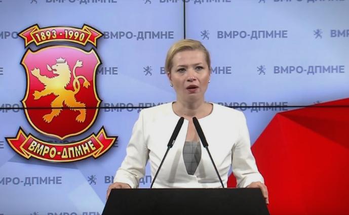 Василевска: Молкот дава сомнеж дека од 7 милионската тендерска аванта имало и за првиот човек на Владата