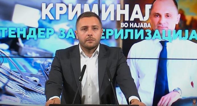 Арсовски до Филипче: Втор пат сте фатени во обид да наместите тендер за кој однапред се знае кој ќе го добие