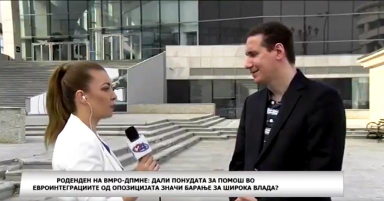 (ВИДЕО) Новинарката на 24 вести провоцираше – Ѓорчев ја спушти на земја!