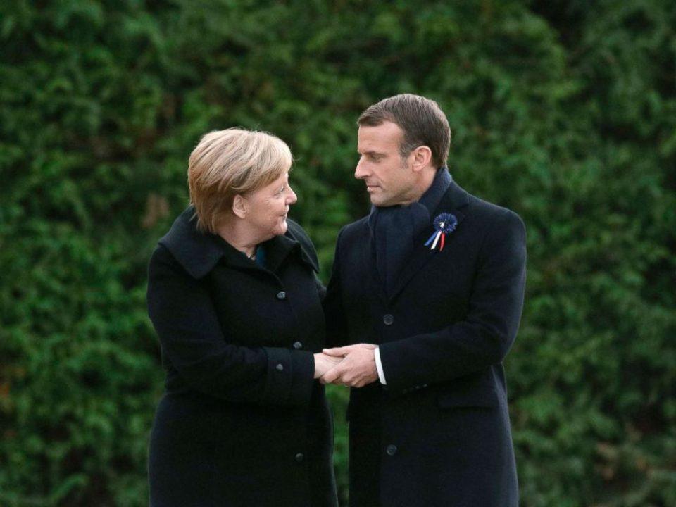 Макрон би ја поддржал Меркел за претседателка на Европската Комисија
