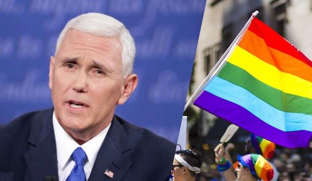 Пенс ја бранеше одлуката на Трамп да ги забрани геј знамињата на амбасадите на САД