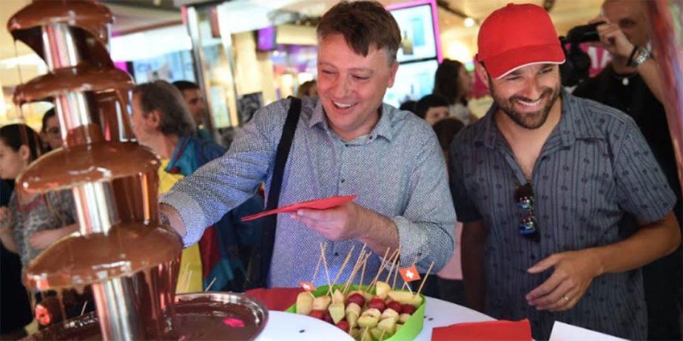 Шилегов не можеше да одолее на чоколадната фонтана во ГТЦ
