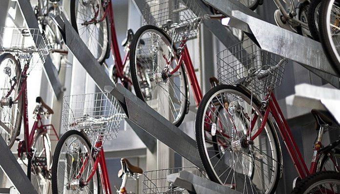 Токио направи подземни паркинзи за велосипеди