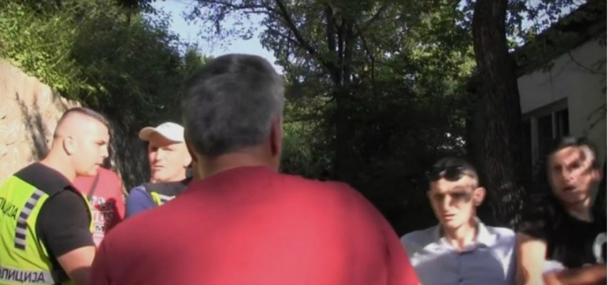 (ВИДЕО) Зависници ја нападнаа новинарската екипа на Инфомакс