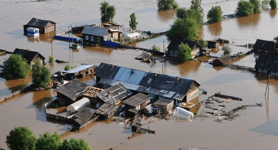 Страотна поплава во Иркутската област