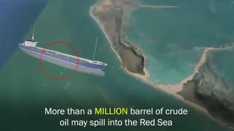 (ВИДЕО) Напуштен танкер со нафта во Црвеното Море може да експлодира и да ја направи најголемата катастрофа досега