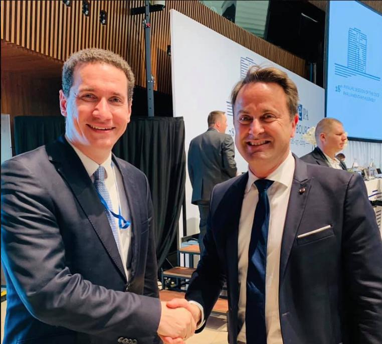 Ѓорчев се сретна со премиерот на Луксембург и со претседателот на ЕПП