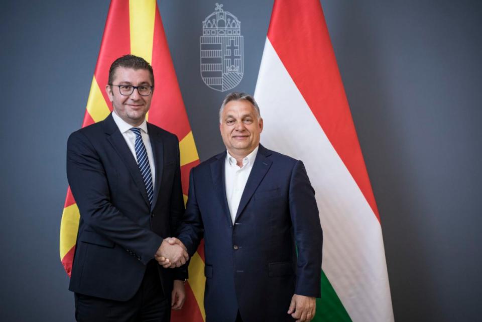 Мицкоски и Николоски се сретнаа со премиерот на Унгарија Виктор Орбан