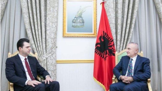 Средба меѓу Мета и Баша во врска со почитичката криза во Албанија