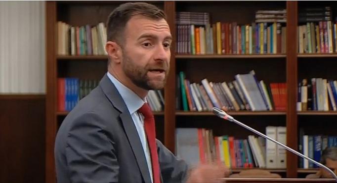 Димовски: СДСМ сака да се однесува како да има монопол, не само врз Собранието туку и во целокупната држава