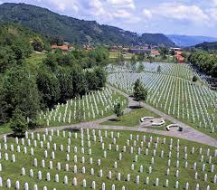 Џафери со делегацијата на одбележување на 24-годишнината од геноцидот во Сребреница