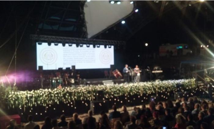 """Отворено 59. """"Охридско лето"""" со спектакуларен гала концерт на Ванеса Меј"""